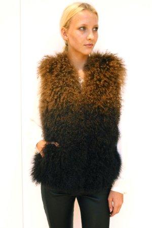 Michael Kors Smanicato di pelliccia multicolore Pelliccia
