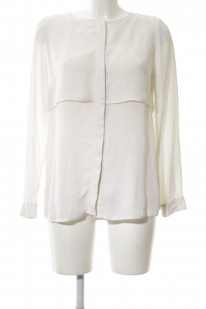 Michael Kors Langarm-Bluse creme Business-Look