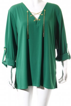 Michael Kors Long Sleeve Blouse green casual look