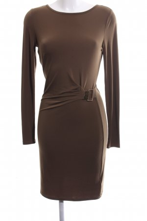 Michael Kors Langarmkleid braun Business-Look