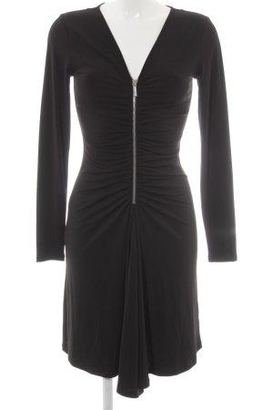 Michael Kors Langarmkleid schwarz Elegant