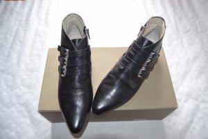 Michael Kors Leder Ankle Boots Stiefeletten Gr.40 (US 9 M) schwarz neuw.