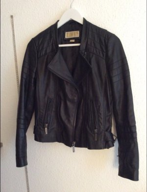 Michael Kors Leder biker Jacke leather jacket
