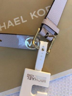 Michael Kors Leder Gürtel in rosa neu mit Etikett