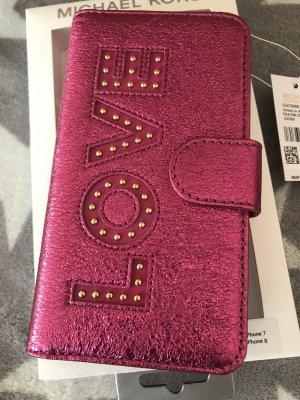 Michael Kors Leder Handyhülle Case IPhone 7/8 neu mit Etikett