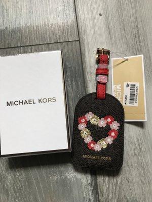 Michael Kors Key Chain brown leather