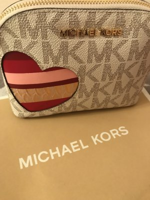 Michael Kors Leder Kosmetiktasche neu 95€