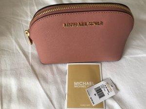 Michael Kors Minitasje stoffig roze