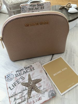 Michael Kors Mini Bag rose-gold-coloured leather
