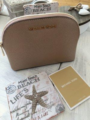 Michael Kors Mini Bag rose-gold-coloured leather