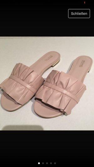 Michael Kors Clog Sandals pink-dusky pink
