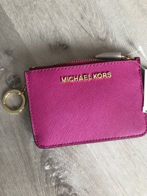 Michael Kors Leder Schlüsseletui mit Geldbörse neu mit Etikett