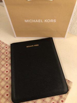 Michael Kors Leder Tablet /I Pad Hülle schwarz