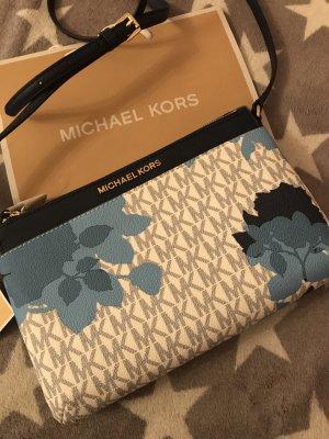 Michael Kors Leder Tasche mit Blumen neu mit Etikett 299€