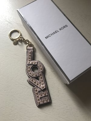 Michael Kors Llavero rosa empolvado-rosa