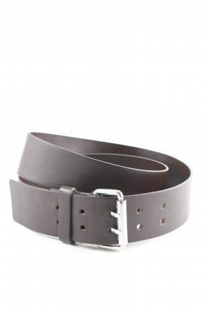 Michael Kors Leather Belt black brown simple style