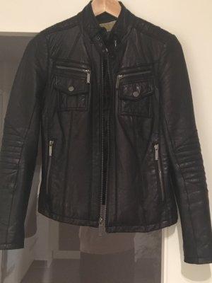 Michael Kors Leather Jacket black