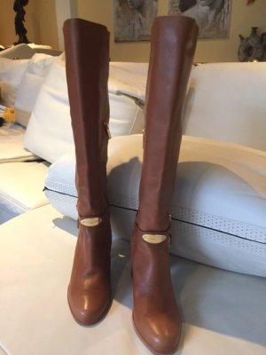 Michael Kors - Lederstiefel- cognac
