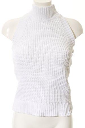 Michael Kors Long Cardigan white casual look