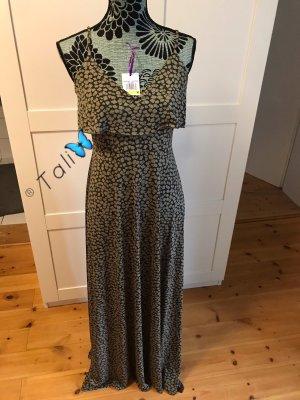 Michael Kors Maxi Kleid lang  Olive Khaki Ivy Floral  M 38 8