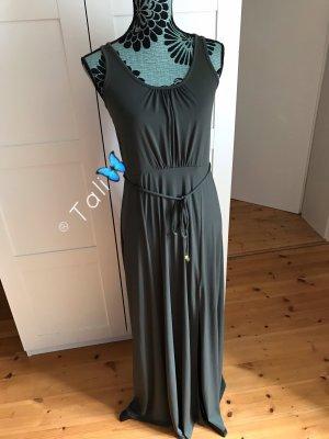 Michael Kors Maxi Kleid lang  Olive Khaki Ivy  M 38 8