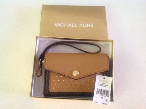 Michael Kors Wallet bronze-colored-gold-colored leather