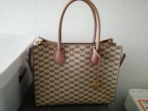 Michael Kors Mercer Large Convertible Tote MK Signature