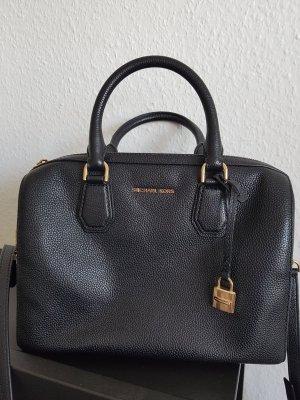 Michael Kors Bowling Bag black leather