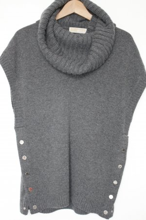 Michael Kors Fine Knitted Cardigan anthracite wool