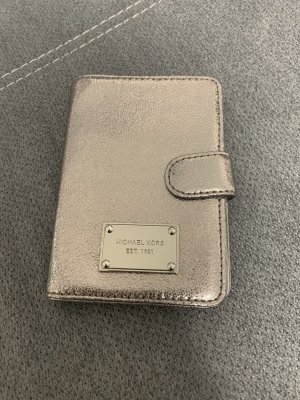Michael Kors Cartera color plata-gris claro