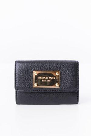 MICHAEL KORS - Mini-Geldtasche Schwarz Leder (Coin Purse)