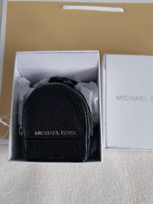 Michael Kors Porte-clés noir-argenté cuir