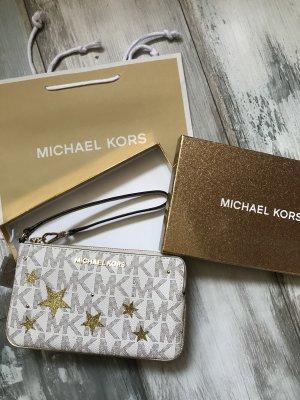 Michael Kors Mini Pochette Leder neu mit Etikett Sternen 135€
