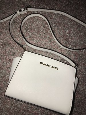 Michael Kors Mini Selma Bag Weiß