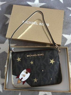 Michael Kors Mini sac brun-doré