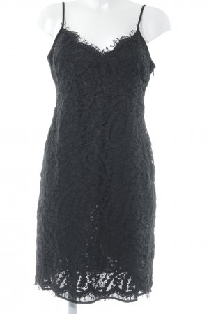 Michael Kors Minikleid schwarz florales Muster Elegant