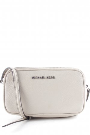 "Michael Kors Minibolso ""Bedford MD Double Zip Crossbody Bag Leather Cement"""