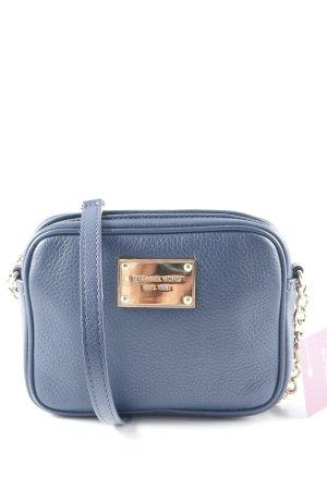 Michael Kors Mini sac bleu foncé-doré style décontracté