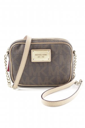 Michael Kors Mini Bag black brown-light brown elegant