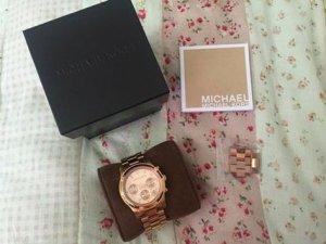 Michael Kors MK 5128 roségold Damen Uhr Chronograph