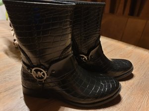 Michael Kors Mk croco rain bootie