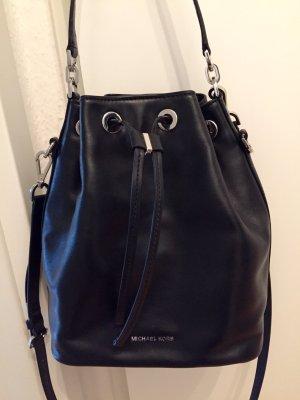 Michael Kors MK Dottie Bucket Bag Tasche Leder Schwarz Beuteltasche
