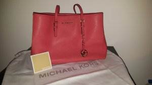 Michael Kors MK Jet Set Travel Medium Coral Watermelon