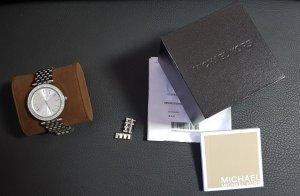 Michael Kors Orologio con cinturino di metallo argento Argento