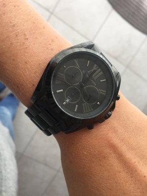 Michael Kors MK Uhr watch mit Metallband schwarz wie neu