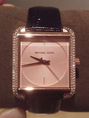 michael kors mk2611 armbanduhr damenuhr neu leder rosé gold