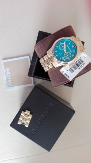 Michael Kors Montre brun sable-bleuet