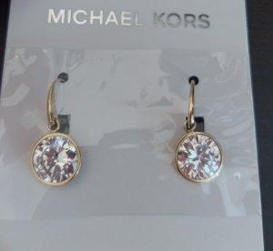 Michael Kors mkj5506710 ohhringe ohrhänger Durchzieher gold kristall neu
