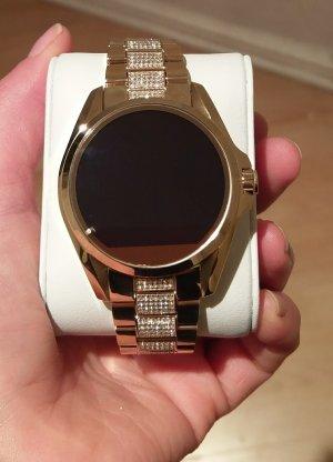 Michael Kors mkt5002 neu smartwatch Damenuhr gold mit steinen besetzt