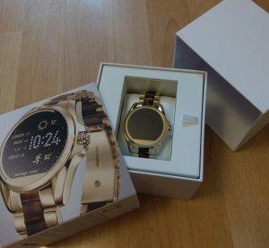 michael kors mkt5003 smartwatch neu gold horn